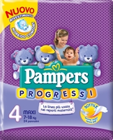 PAMPERS Progressi Nuovo