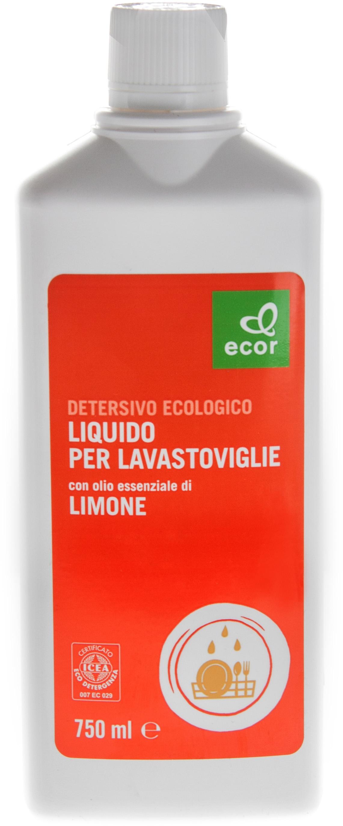I dettagli del test sul detersivo per lavastoviglie ECOR Liquido per ...