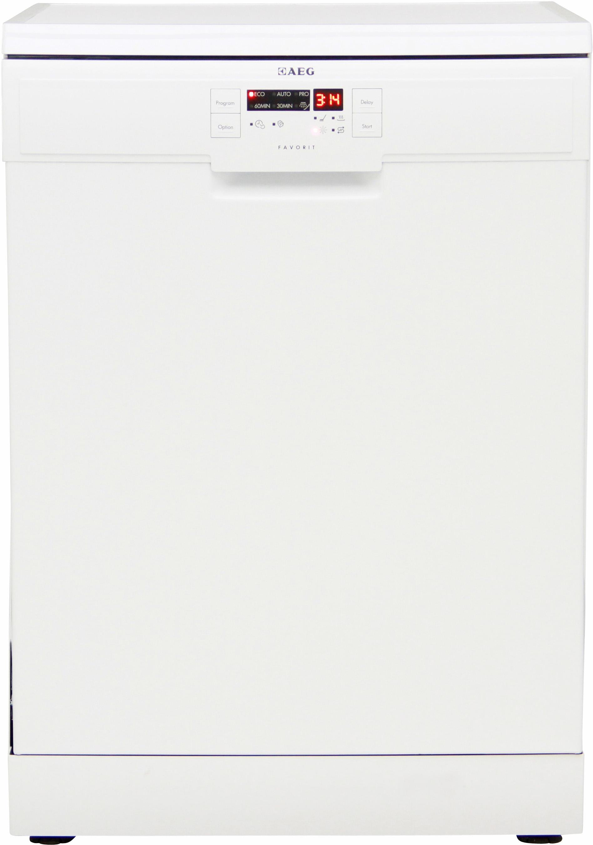 I dettagli del test sulla lavastoviglie AEG F56312W0