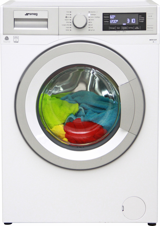 I dettagli del test sulla lavatrice SMEG WHT812LSIT