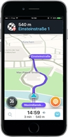 WAZE GPS Navigation, Maps & Traffic (iOS)