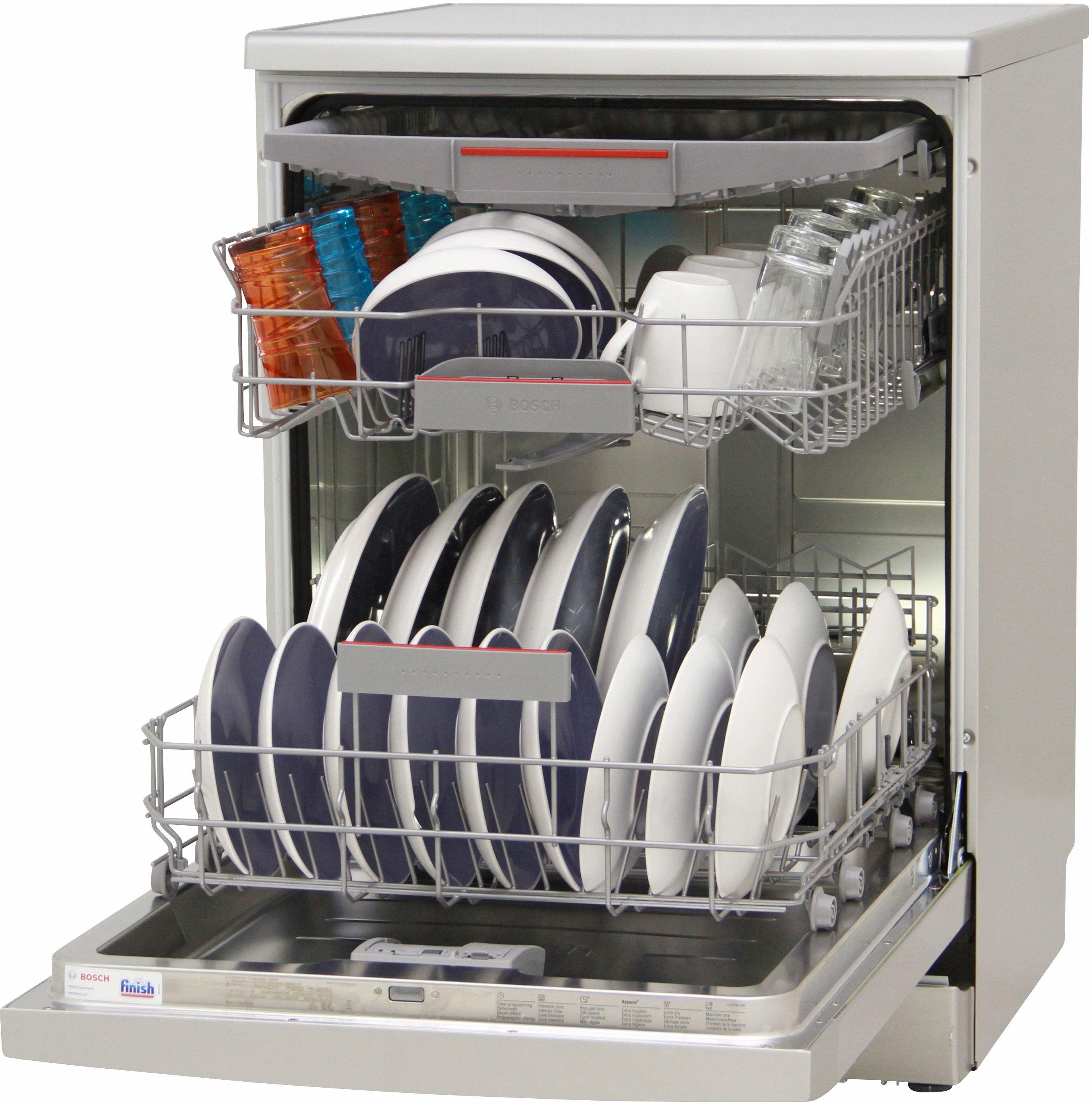 I dettagli del test sulla lavastoviglie BOSCH SMS68MI04E