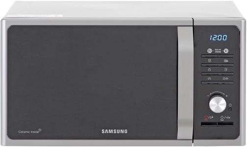 I dettagli del test sul forno a microonde SAMSUNG MG23F301TCS