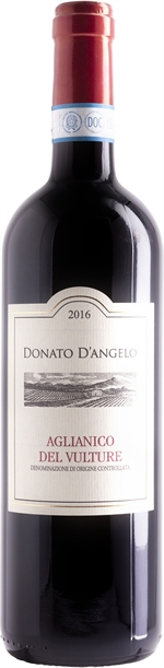 DONATO D'ANGELO AGLIANICO DEL VULTURE DOC 2016 | Classifica vini: Risultati del test | Altroconsumo