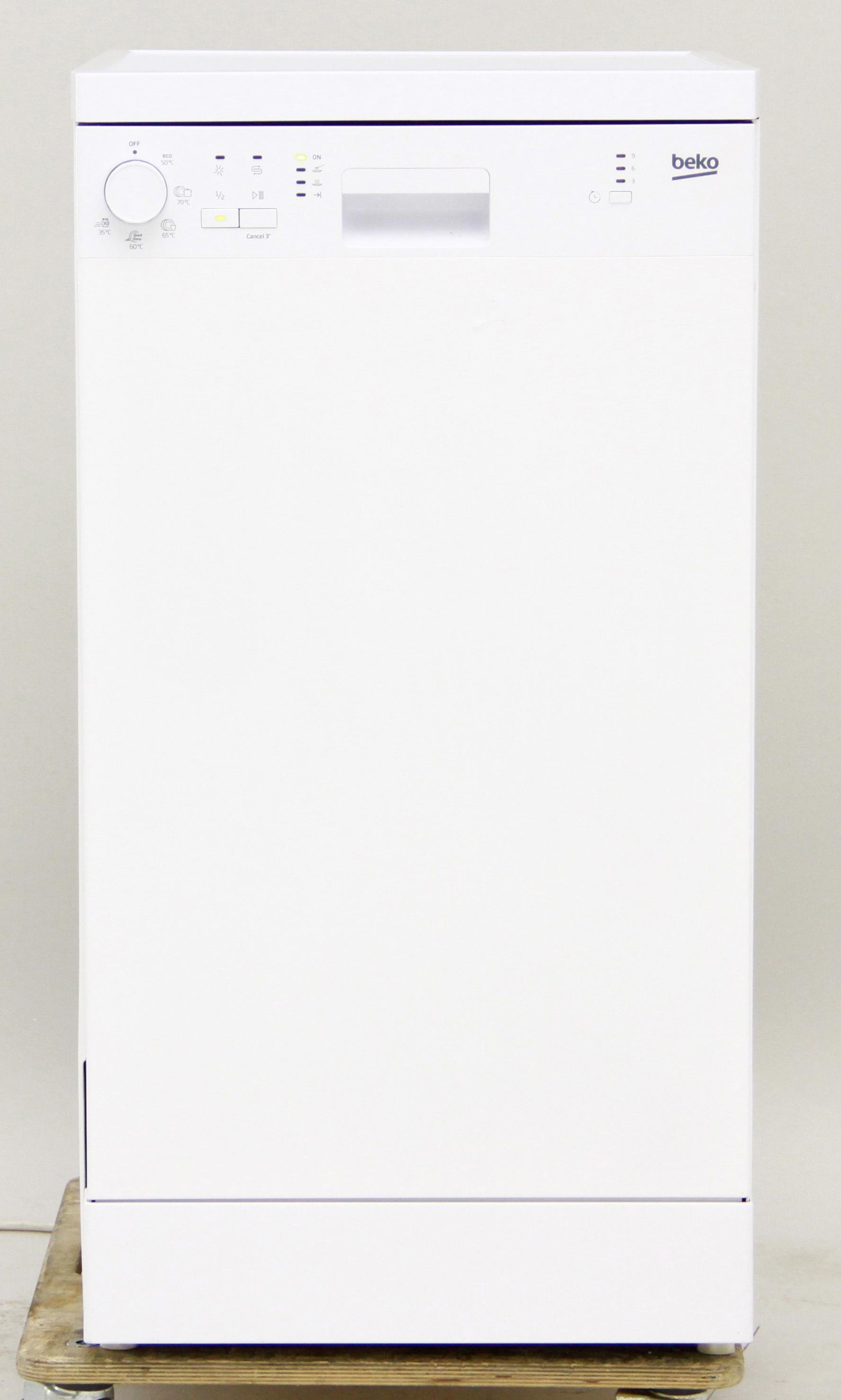 I dettagli del test sulla lavastoviglie BEKO DFS05011W