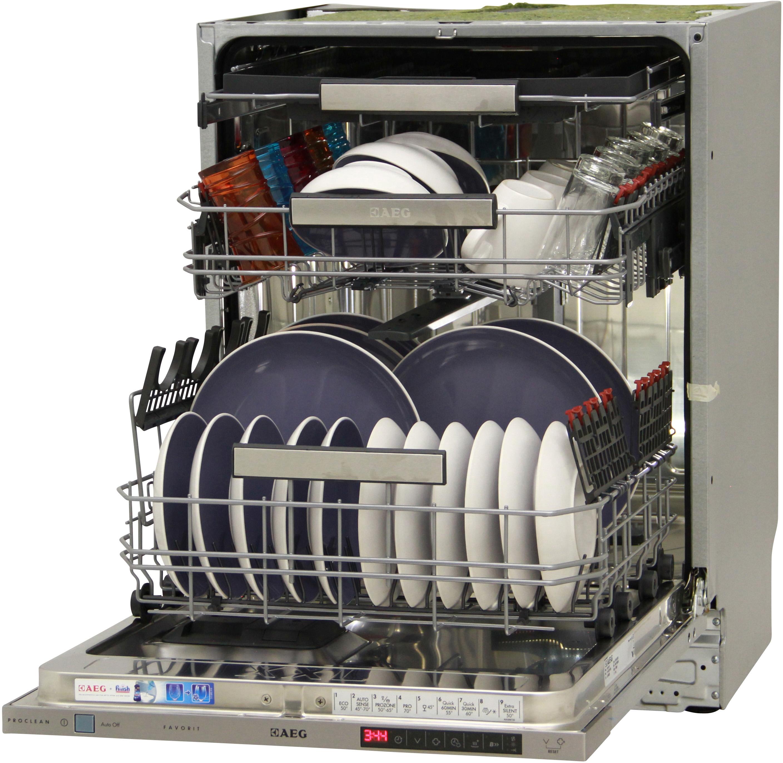 I dettagli del test sulla lavastoviglie AEG F88715VI1P
