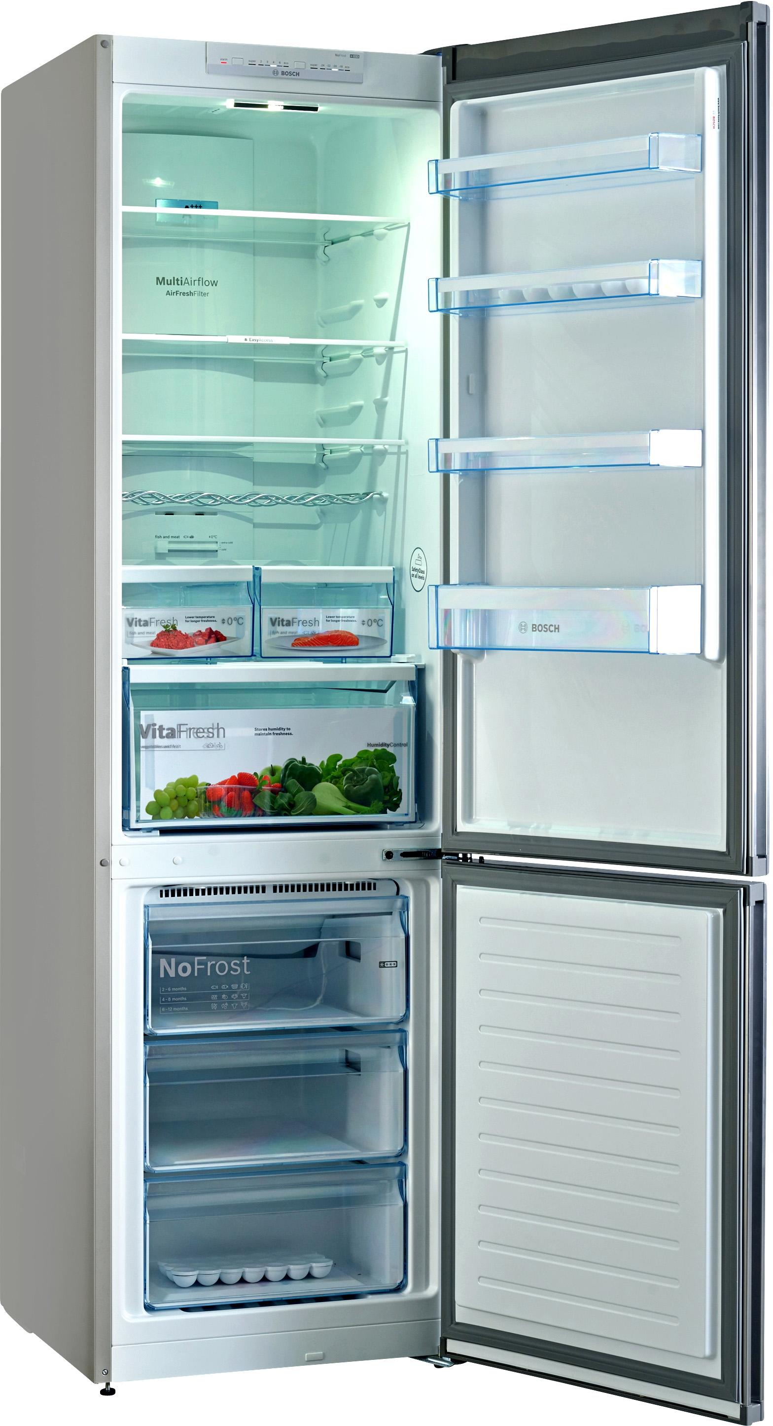 I dettagli del test sul frigorifero BOSCH KGN39VL45