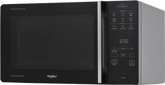 I dettagli del test sul forno a microonde WHIRLPOOL MCP349SL