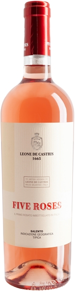 LEONE DE CASTRIS Salento IGT Five Roses Rosato 2018 | Classifica vini | Altroconsumo