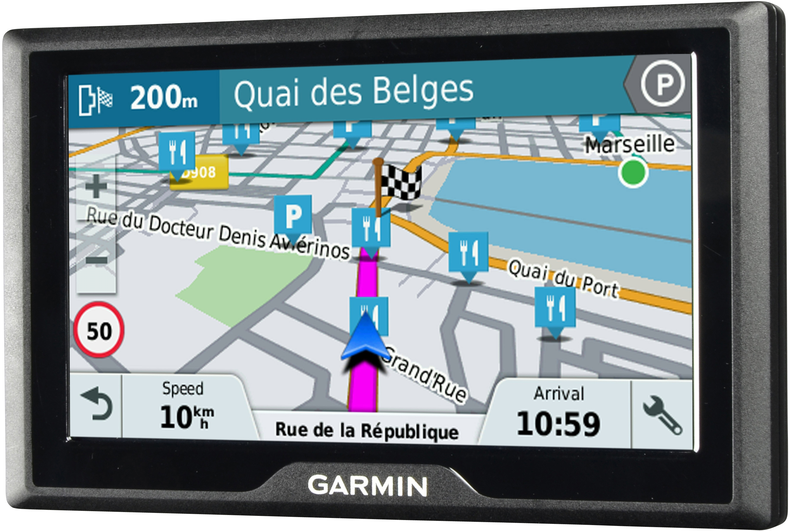 i dettagli del test sul navigatore garmin drive 51 lmt s eu. Black Bedroom Furniture Sets. Home Design Ideas