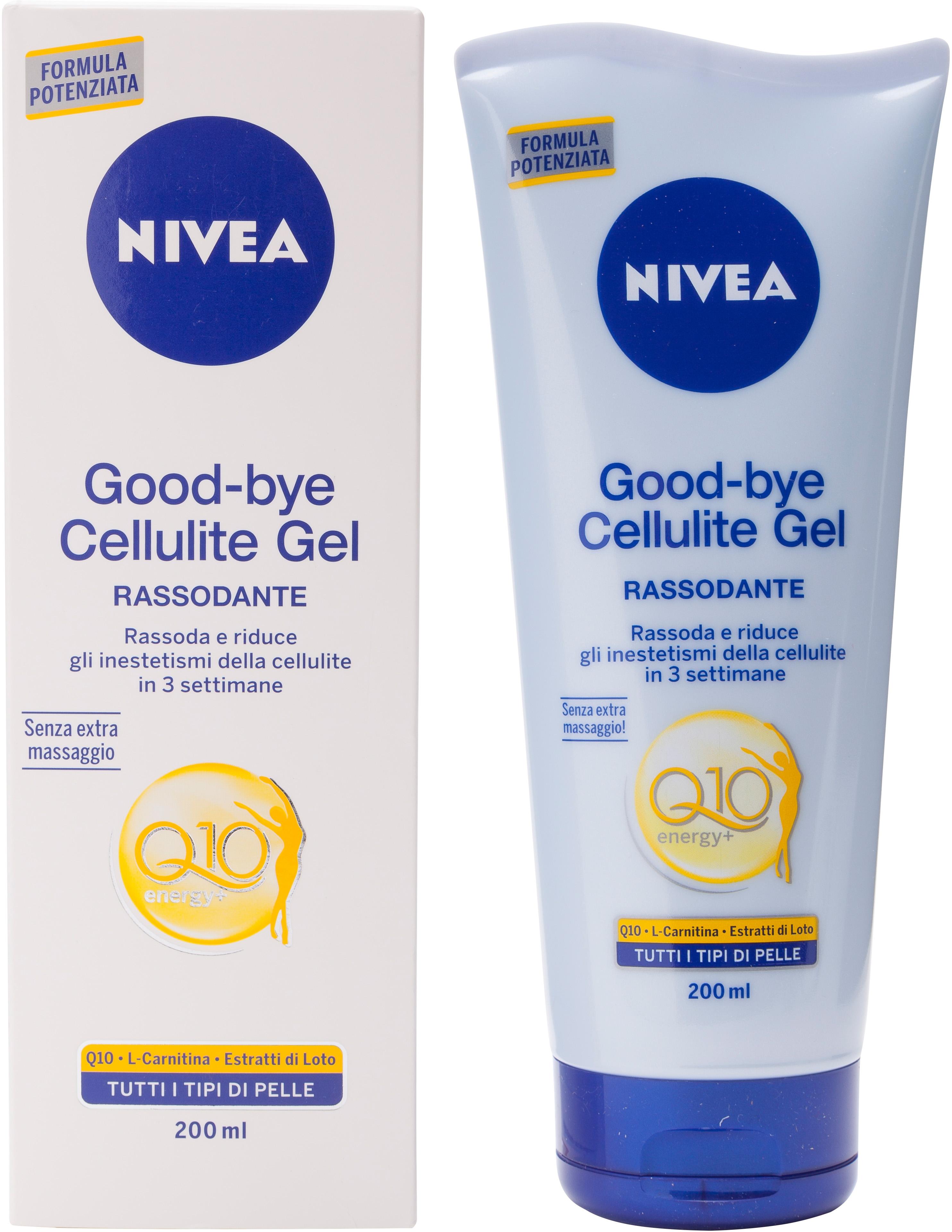 Test e Recensione NIVEA Good-bye cellulite gel - Altroconsumo